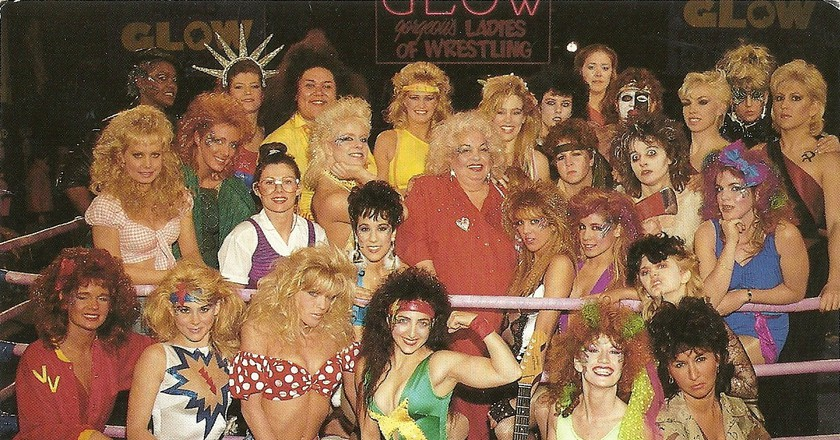 GLOW was an all-female wrestling production in the late 1980s and early '90s | © Ursula Hayden