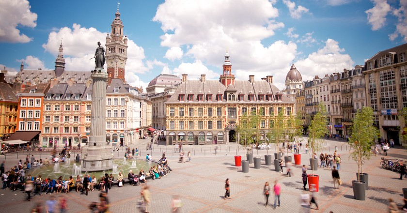 Grand Place, Lille © Laurent Ghesquière/ OTCL Lille