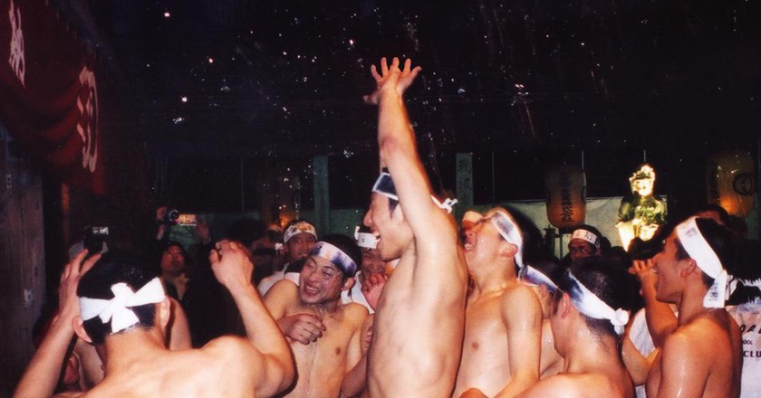 The Hadaka Matsuri or Naked Festival in Japan | © CES/Wikicommons