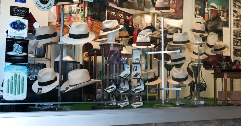 Hat display in San Juan, Puerto Rico | © charly.alvarez/Flickr