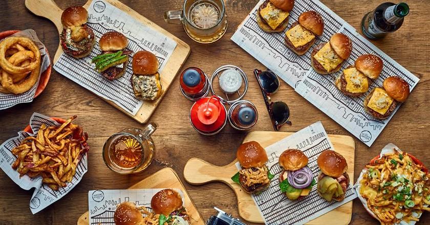 Hudson's burger joint   Courtesy Hudsons