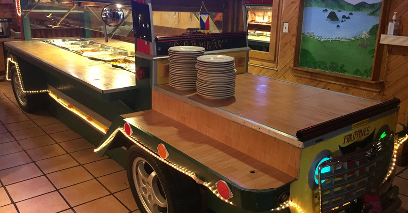 The Jeepney buffet at Little Quiapo Restaurant   Courtesy of Little Quiapo Restaurant