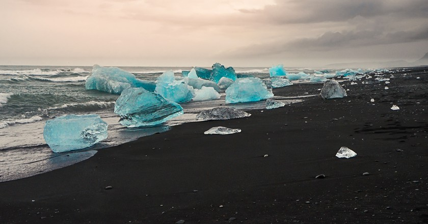 Blue growler- Jökulsárlón | © Theo Crazzolara/Flickr