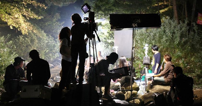 Lights, camera, action! | © Injeongwon / Wikimedia Commons