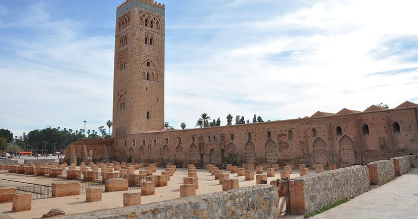 Koutoubia Mosque in Marrakech |© Wikimedia Commons