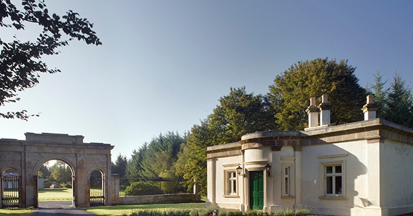 Triumphal Arch Lodge | Image courtesy of the Irish Landmark Trust
