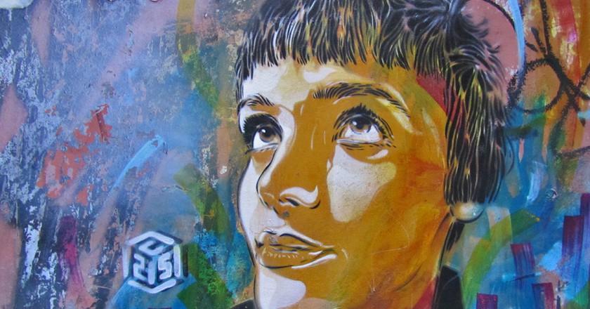Malasaña is a great place to explore street art | © Marta Nimeva Nimeviene/Flickr