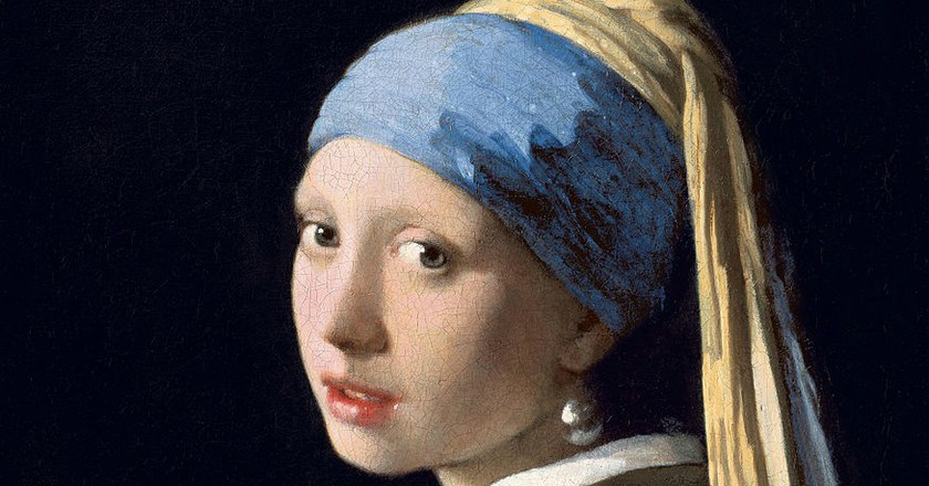 Johannes Vermeer: Girl with Pearl Earring, 1665 | © Public domain