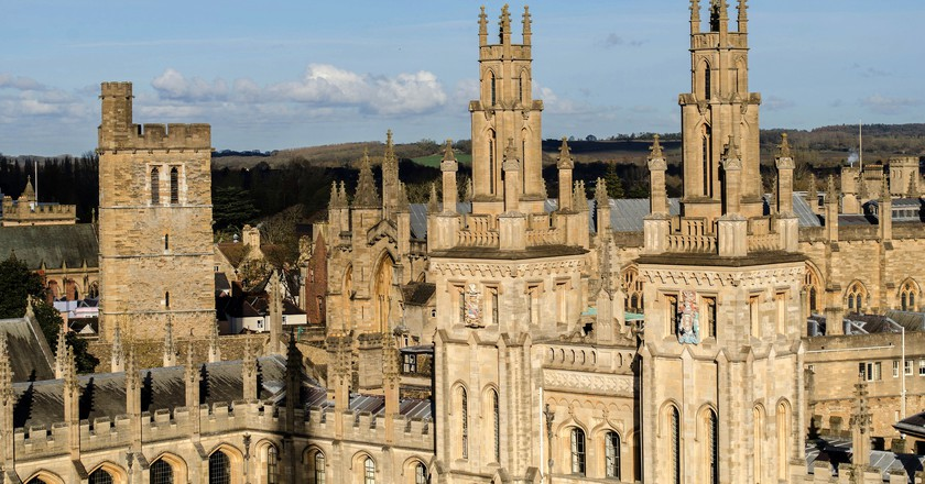 Oxford Spires | © Alison Day/Flickr