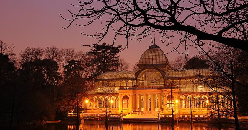 The Crystal Palace in Madrid's Retiro Park    © Felipe Gabaldón/Flickr