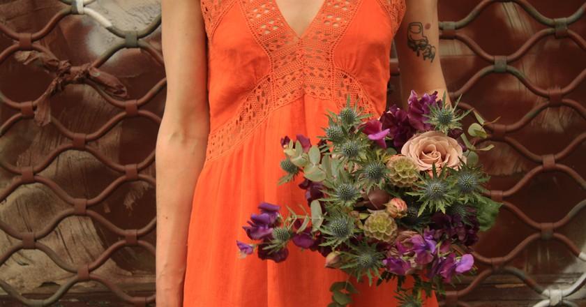 Quirky bouquet by Mémé dans les orties │ Courtesy of Mémé dans les orties