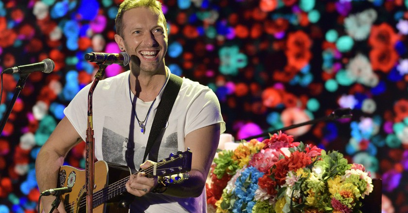 Chris Martin of Coldplay © Flavio Lo Scalzo / AGF/REX/Shutterstock