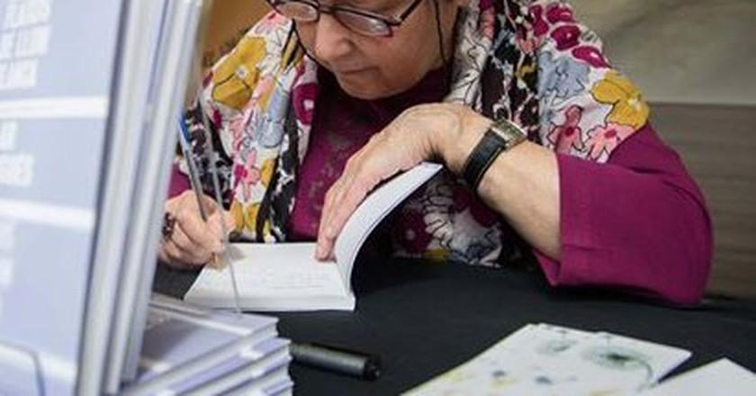 Pilar Burgués | Photo courtesy of the writer