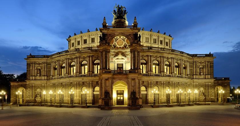 Semper Opera House , Dresden | © Frank Exß/dresden.de