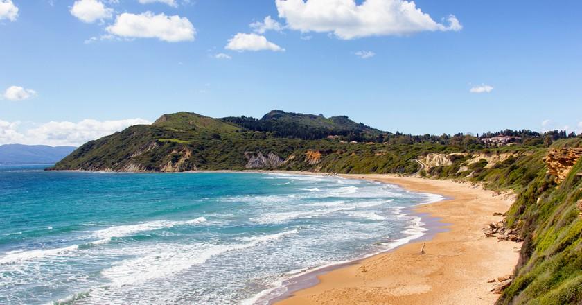 Gerakas beach, a  protected sea turtle nesting site in Zakynthos  | © smoxx/Shutterstock