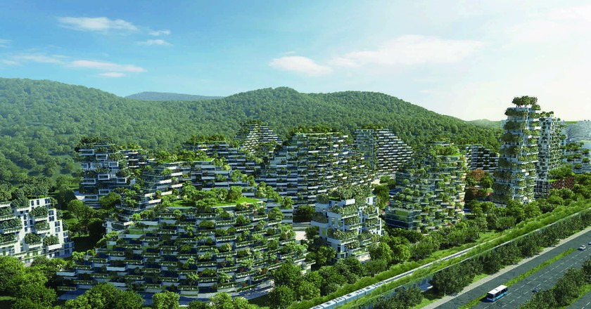 Luizhou Forest City | © Stefano Boeri Architetti