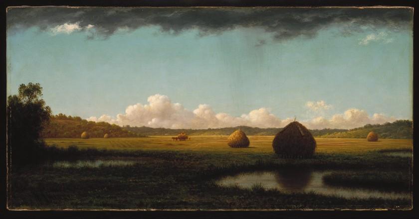 'Summer Showers' by Martin Johnson Heade (1865-1870) | ©WikiCommons