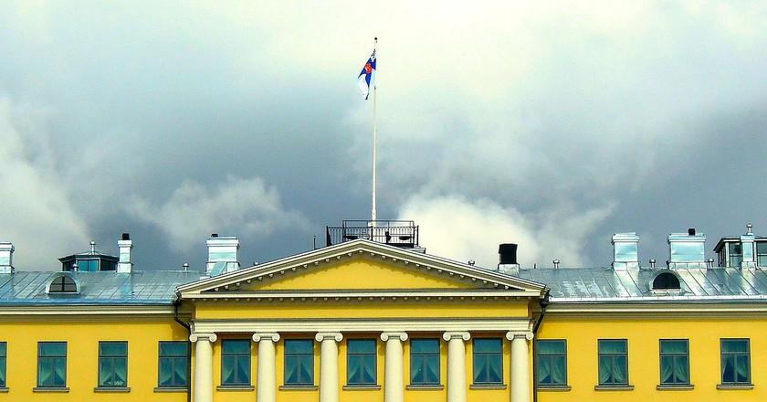 The Helsinki Presidential Palace / Public domain / Pixabay