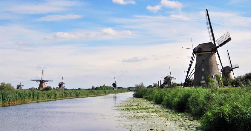 Kinderdijk Mill Network   © pixabay