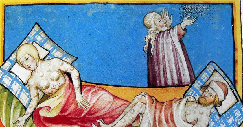 Miniature out of the Toggenburg Bible  | Public Domain/Wikimedia