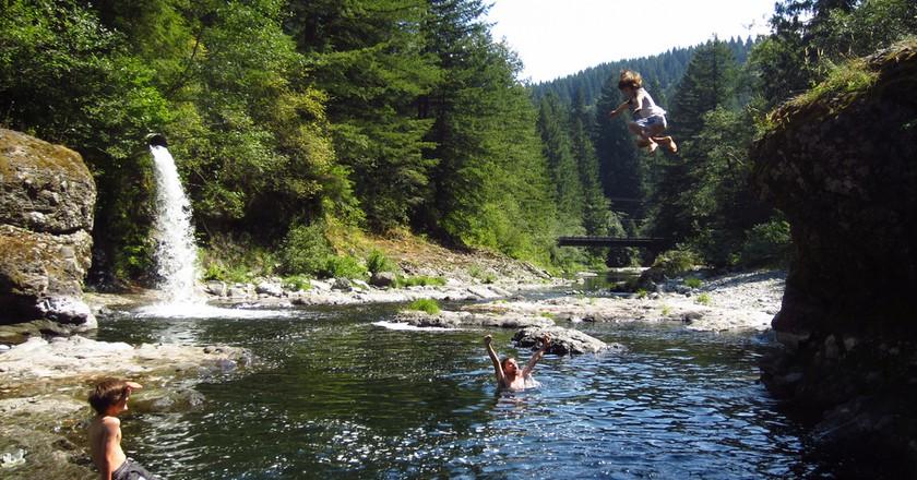Wild swimming   © Eli Duke/Flickr