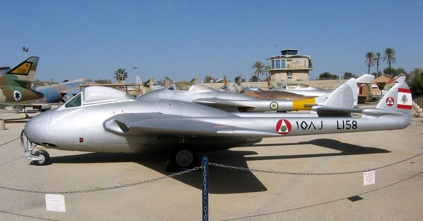 Historical Lebanese Air Force jet  | © Oren Rozen/ Wikimedia Commons