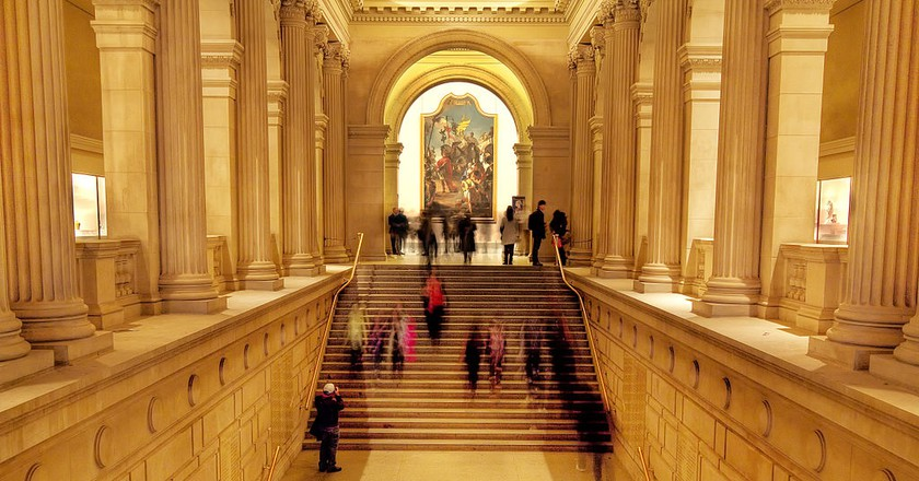 Inside the Met   Photo by Carmelo Bayarcal/WikiCommons