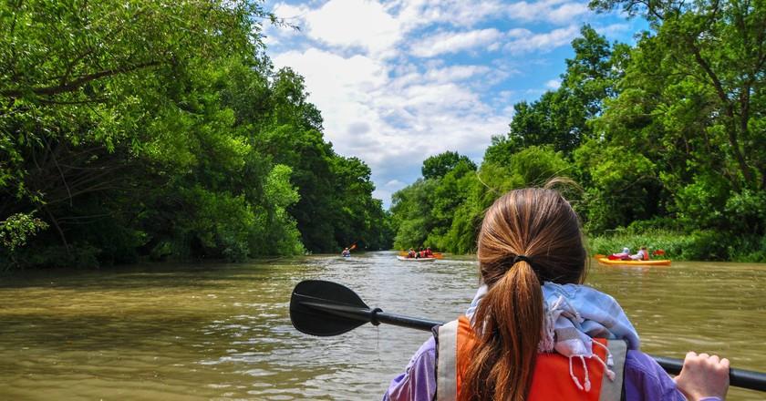 Kayaking in Kamchia River | Courtesy of Bulteam Adventures