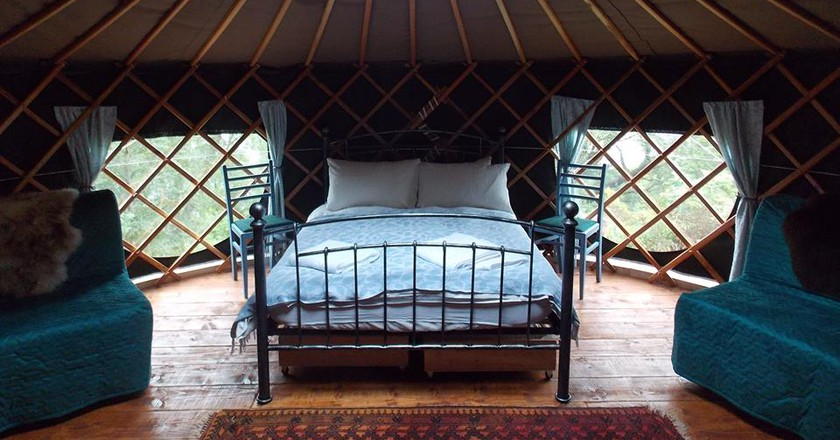Inside a Black Isle Yurt | © Black Isle Yurts/Facebook