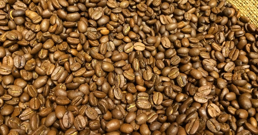 Colombian Coffee beans | © Andrea Poike/Flickr