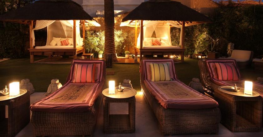 The terrace at Pan dei Palais is 'très romantique' | © Pan dei Palais