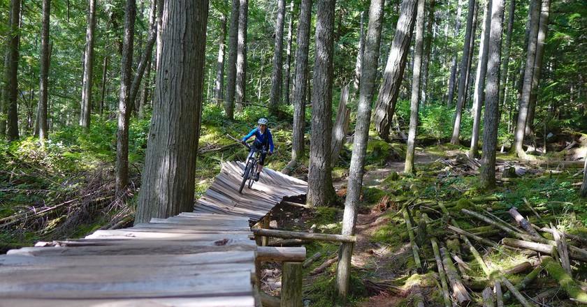 Bike trails in Squamish   © Sébastien Launay / Flickr