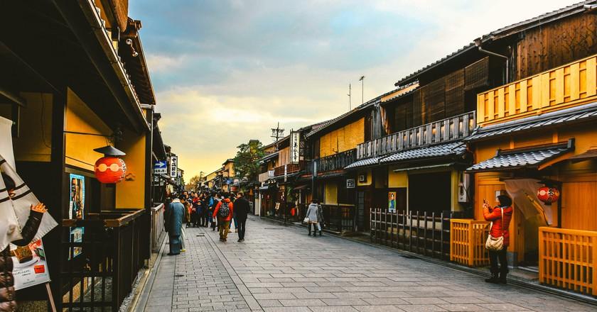 Hanamikoji Street in the Gion District   © hans-johnson / Flickr