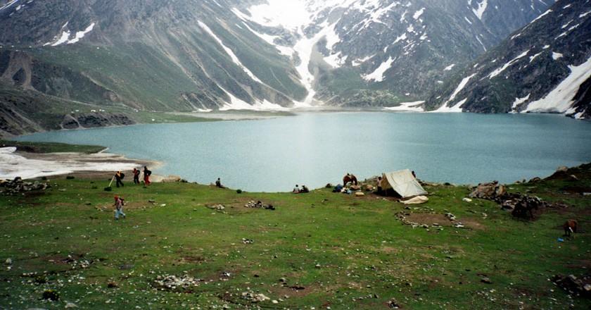 Camping in Amarnath © Nitin Badhwar/Flickr