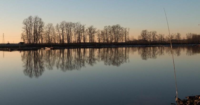 Fraser River Sunsets   © James Abbott / Flickr
