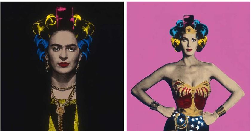 "Tony Peralta's ""Icons"" | Image courtesy of Twyla"