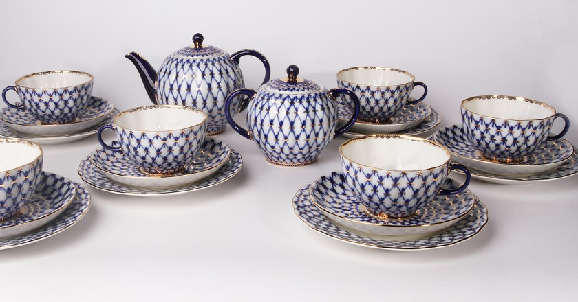 Porcelain production | Courtesy of the Imperial Porcelain Factory