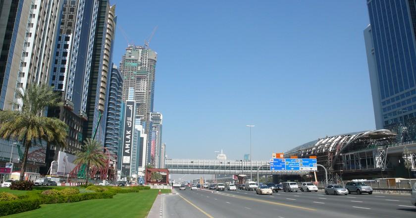 Sheikh Zayed Road   © Christopher/Flickr