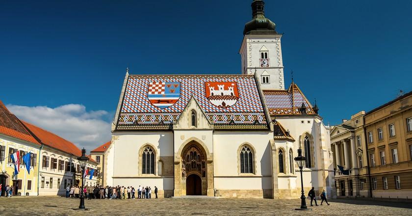 St Mark's, Zagreb | © Jorge Franganillo/Flickr