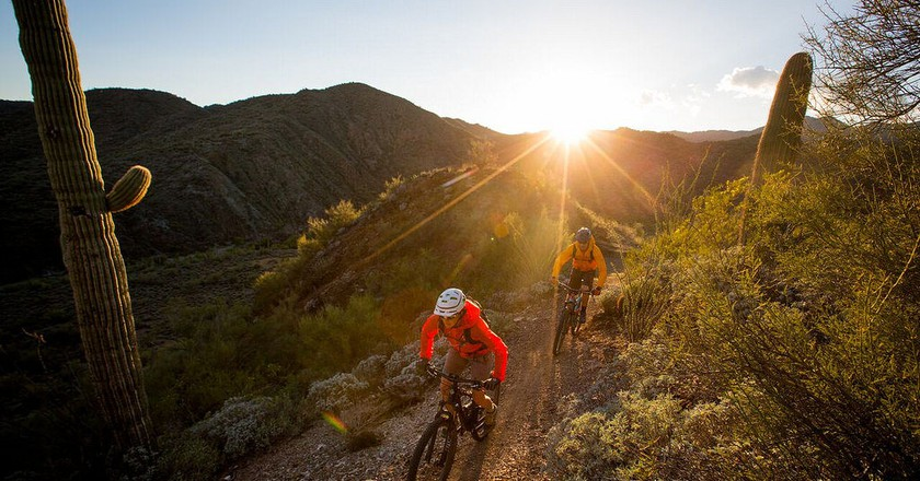 Mountain biking | © Bureau of Land Management/Flickr