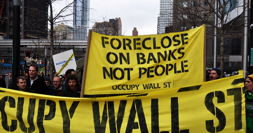 Occupy Wall Street | © Michael Fleshman/Flickr