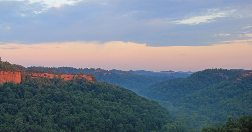 View from Chimney Top Rock at Red River Gorge | © Anthony / Flickr