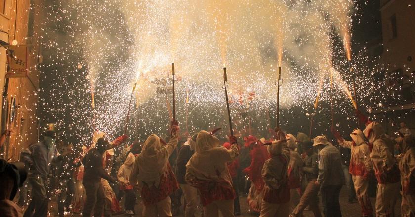 Correfoc celebrations I © Aina Vidal/Flickr