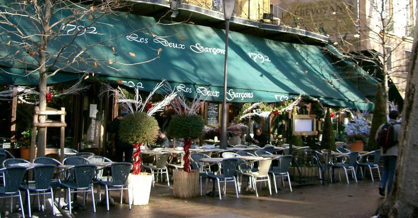 The famous Les Deux Garçons café in Aix en Provence | PRA/WikiCommons