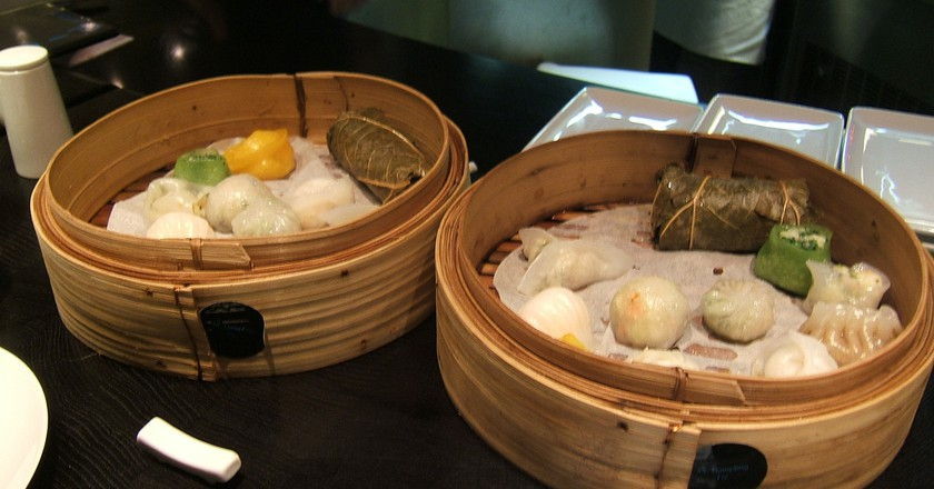 Dim sum at Ping Pong, London | © audinou/Flickr