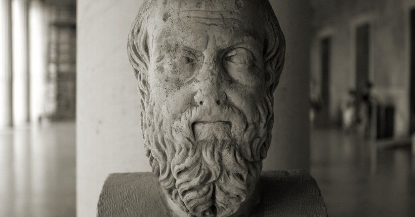 Bust of Herodotus, father of History  | © Bradley Weber / Flick