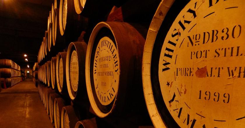 Suntory Whisky barrels | © Toukou Sousui 淙穂鶫箜/Flickr