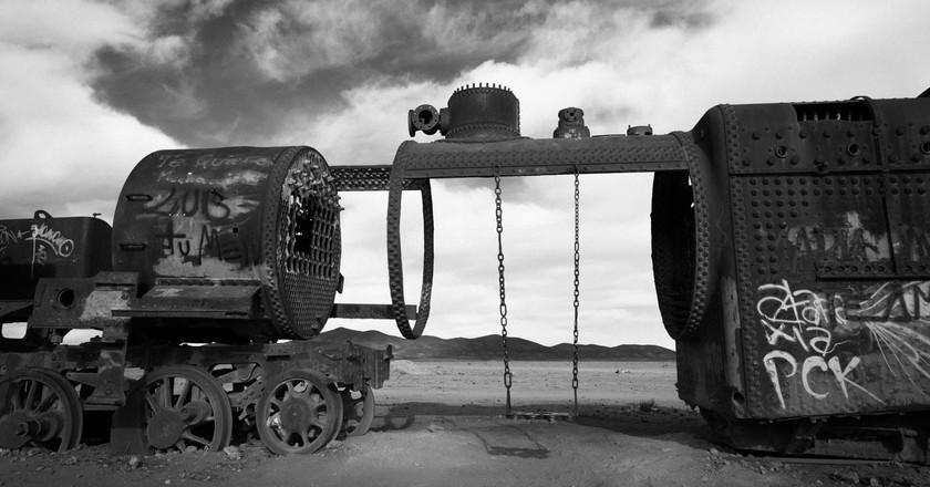 Train graveyard | © vincentraal/Flickr