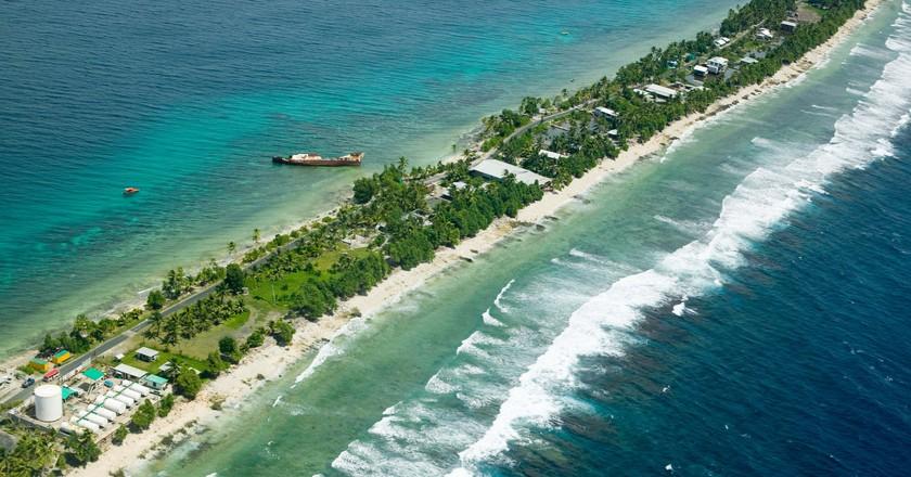 Funafuti atol on Tuvalu