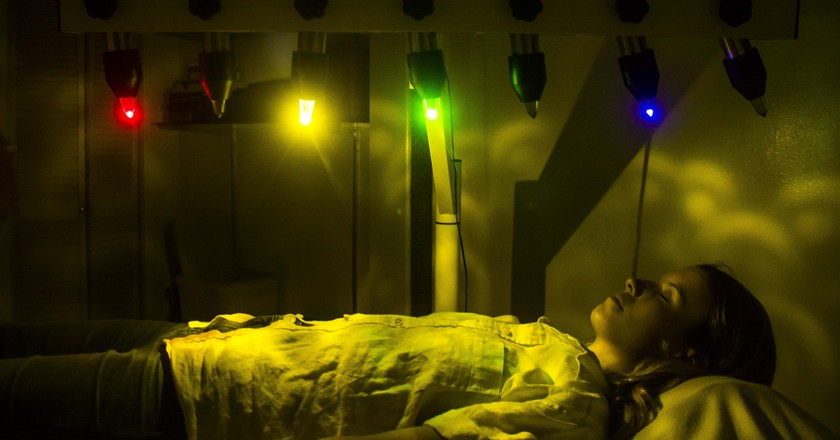 Crystal Bed Therapy is the Ultimate Disco Nap